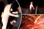 Tinerii au luat o păpuşă GONFLABILĂ şi au legat-o de o rachetă. Fenomenul NEAŞTEPTAT a fost filmat şi a ajuns viral pe net - VIDEO