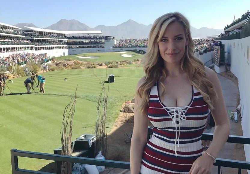 Ce maşină are Paige Spiranac, cea mai sexy jucătoare de golf - VIDEO