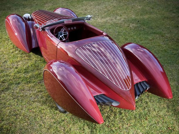 Deco Rides Generation 2 Boattail Speedster