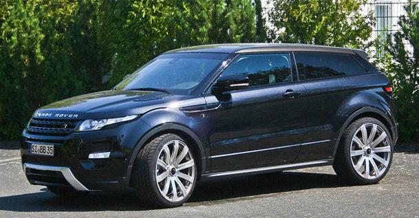 Range Rover Evoque primeşte un plus de putere de la B&B