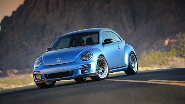 Volkswagen Beetle cu 500 de cai-putere, prezentat la SEMA