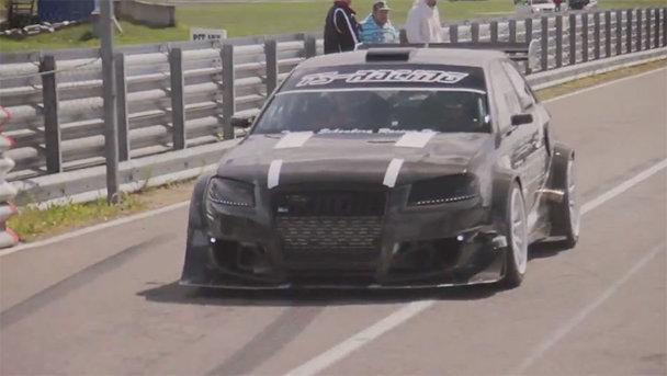 Audi S3 de curse cu peste 1.000 CP. VIDEO