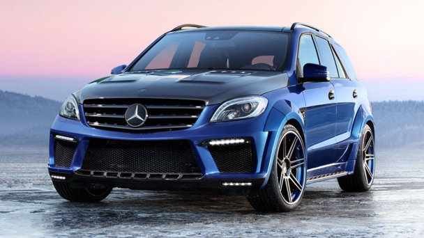 Tuning: Mercedes-Benz ML 63 AMG de la TopCar