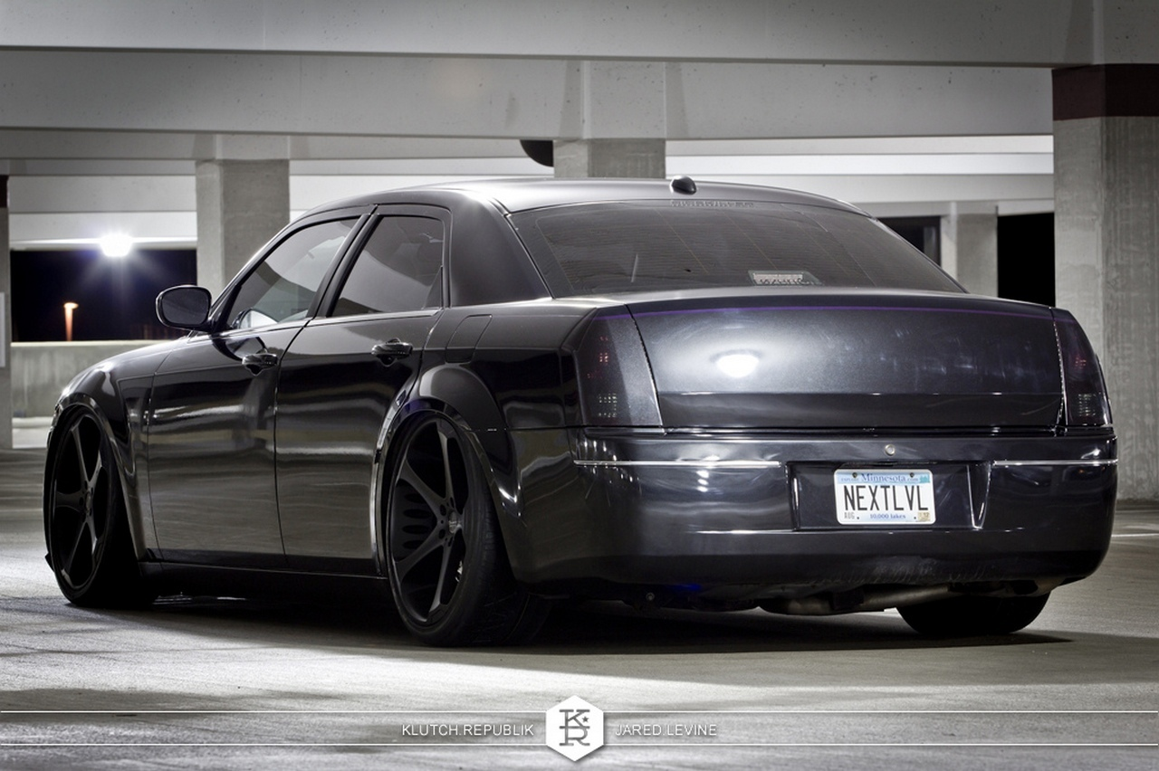 blacked out chrysler 3...
