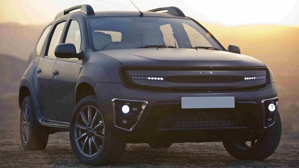 DC Design transformă Dacia Duster într-un crossover cu pretenţii de lux