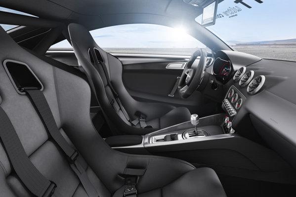 Interior Audi TT Ultra Quattro - concept pentru Worthersee Festival 2013