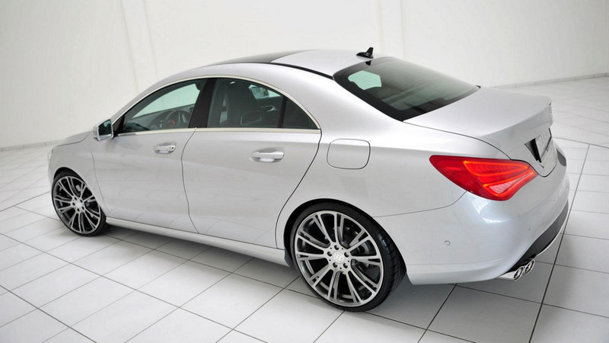 Brabus modifică noul Mercedes-Benz CLA