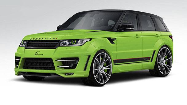 Lumma Design modifică noul Range Rover Sport