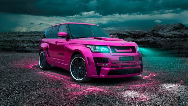 Oglindă, oglinjoară, care-i cel mai roz Range Rover din ţară?
