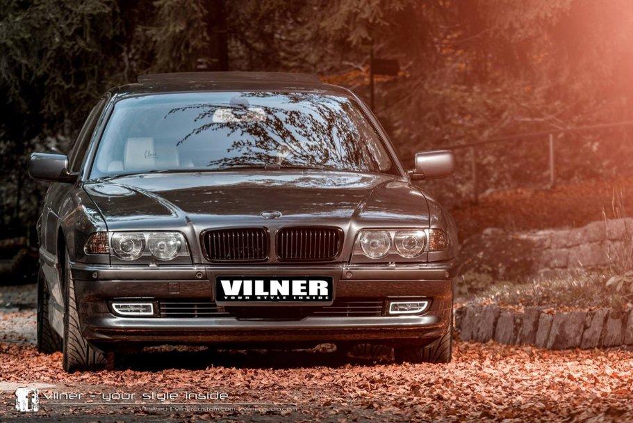Vilner aduce în modernitate un BMW Seria 7 din anii '90