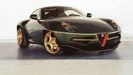 Alfa Romeo Disco Volante, ediţie specială Touring la Geneva 2014