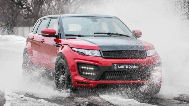 From Russia with love: Range Rover Evoque by LARTE Design