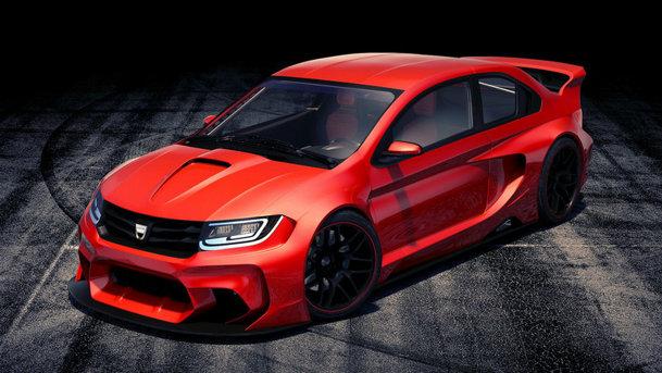 Cadou pentru Crăciun: Dacia Logan concept 2015