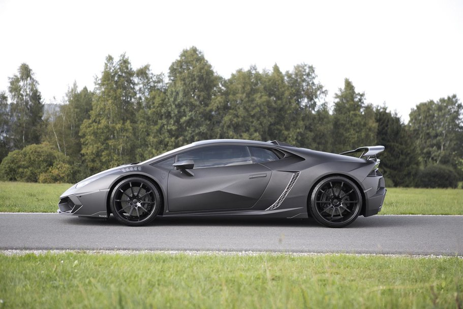 Un alt fel de Carbonado: Lamborghini Huracán by Mansory