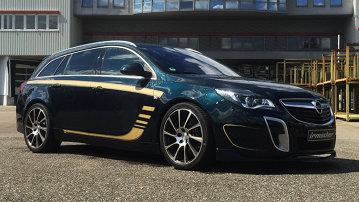 Irmscher face din Opel Insignia OPC un break rapid. Foarte rapid