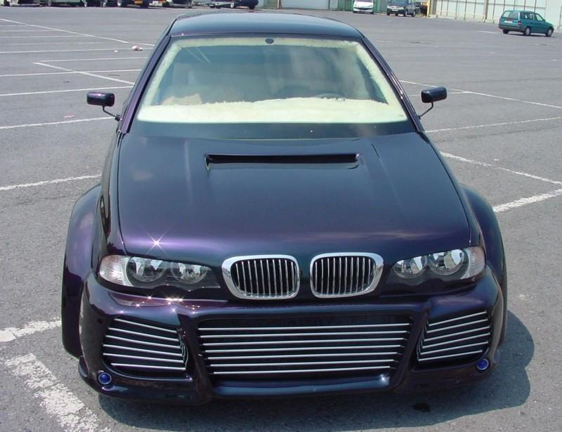 Tuning de... frustrat? VW Golf 3 cu look de BMW Seria 3