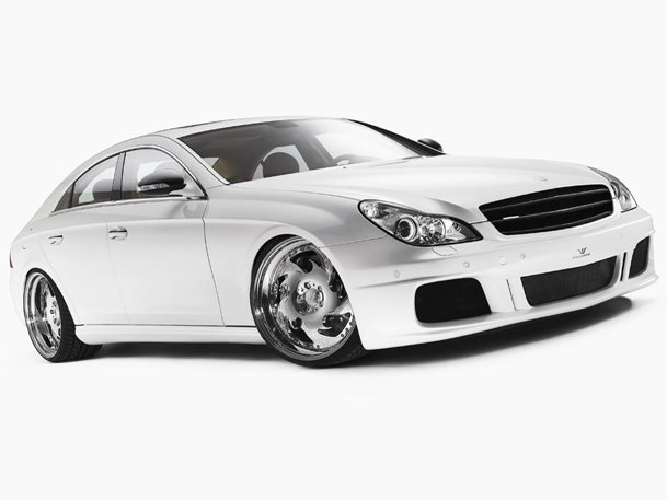 Mercedes CLS White Label by Wheelsandmore