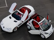BRABUS SLR McLaren Roadster & Smart Ultimate 112