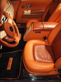 Rolls Royce Mansory - piele, lemn şi carbon