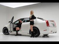 Cadillac CTS D3 - două mini-eleroane în spate