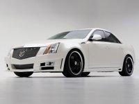 Cadillac CTS D3 - grila este împletită