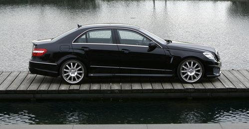 Mercedes E Class a fost tunat discret de Carlsson