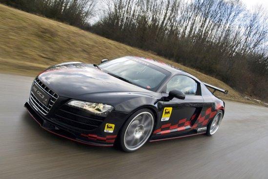 Audi R8 GT3-2 tunat de MTM are 560 CP si propulsie doar pe puntea spate