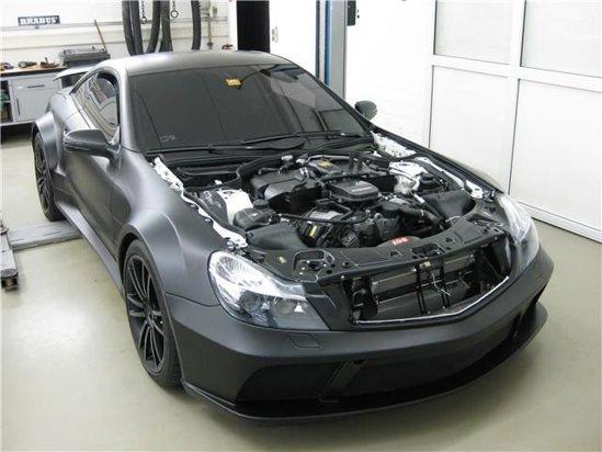 Puterea lui SL 65 Black Series Vanish by Brabus ajunge la aproape 800 CP
