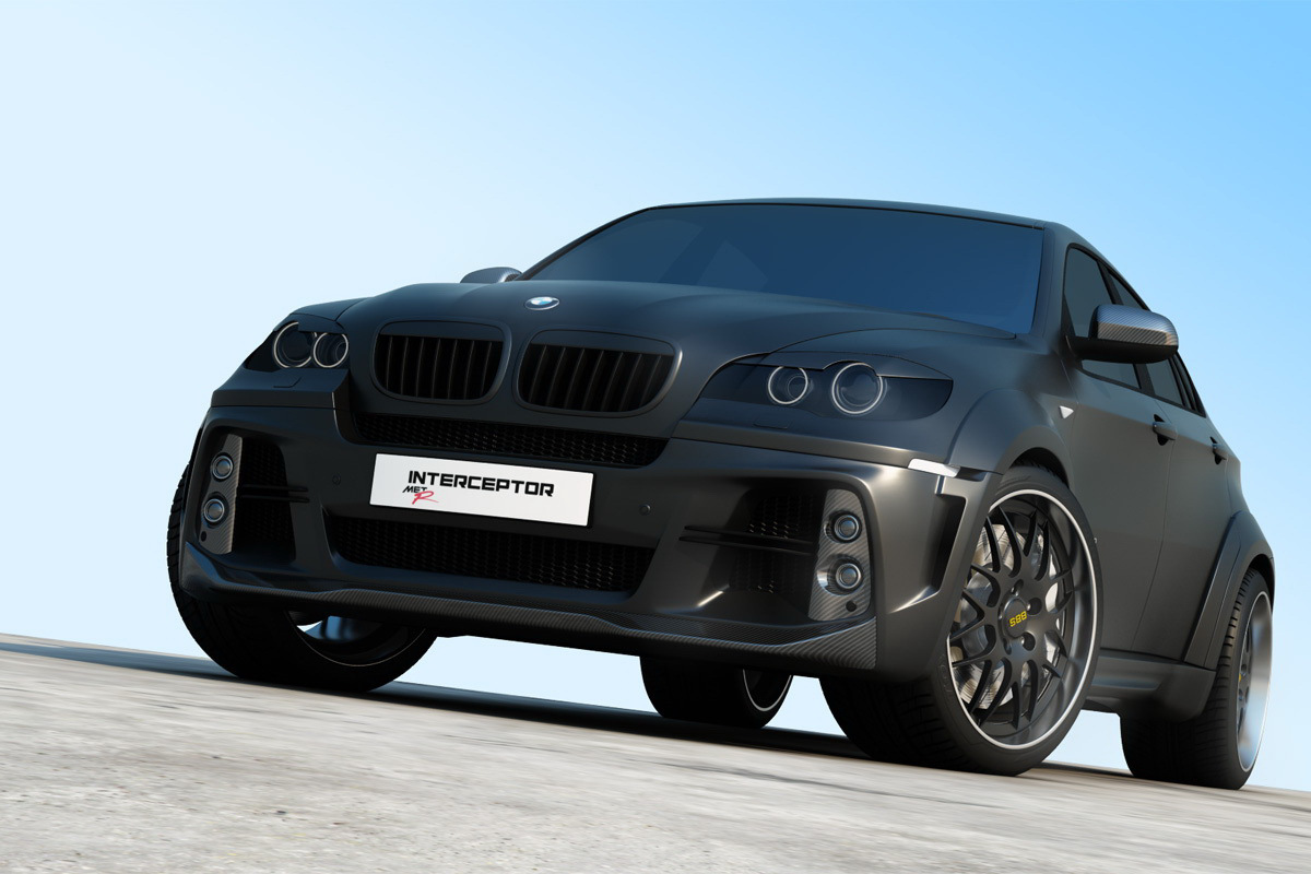 Imagini Ruşii Se Pricep La Tuning Bmw X6 Interceptor By