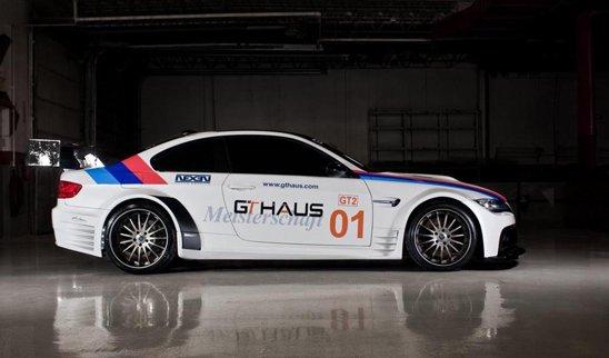 Pentru BMW M3 GT2, tunerul GTHaus propune un kit exterior din fibra de carbon, foarte agresiv