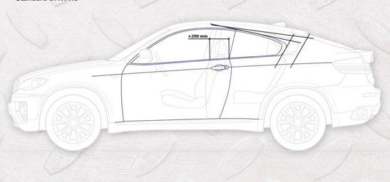 Armortech a transformat BMW X6 intr-un SAV Coupe, prin eliminarea usilor spate