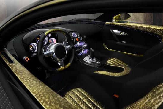 Mansory Veyron - interior