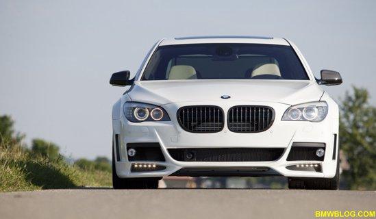 Lumma BMW CLR 750 - kit estetic mai agresiv pentru Seria 7