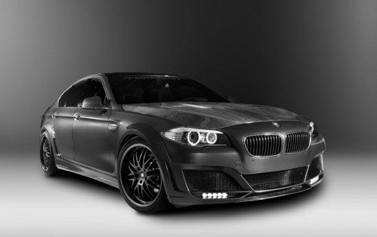 BMW Seria 5 a fost transformat in bestia Lumma CLR 500 RS2