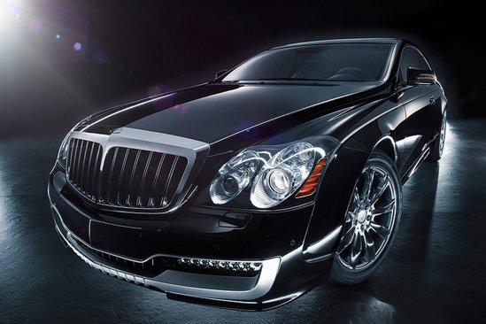Xenatec propune versiunea Maybach 57S Coupe, concurent pentru Rolls Royce Phantom Coupe
