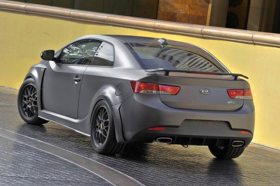 KIA Forte Koup Type R Concept se bazeaza pe modelele de curse