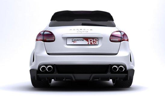 Motorul lui Porsche Cayenne Radical Star a fost upgradat cu 64 CP. Acum are 564 CP