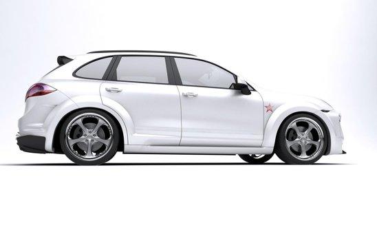 Pretul pentru modificarea in Porsche Cayenne Radical Star este de circa 20.000 euro