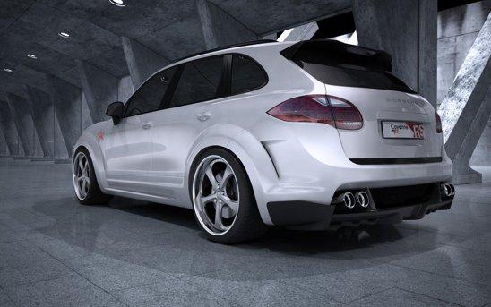 Porsche Cayenne Radical Star beneficiaza de un kit exterior foarte agresiv