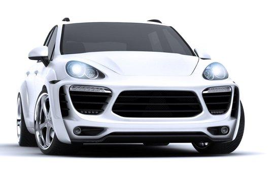 Porsche Cayenne Radical Star - propunerea tunerului Met-R