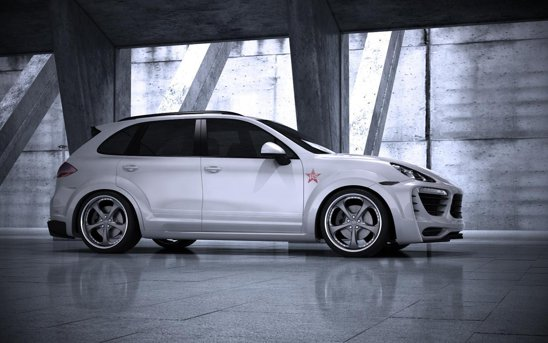 Porsche Cayenne Radical Start: elemente din fibra de carbon, garda coborata, aspect sportiv