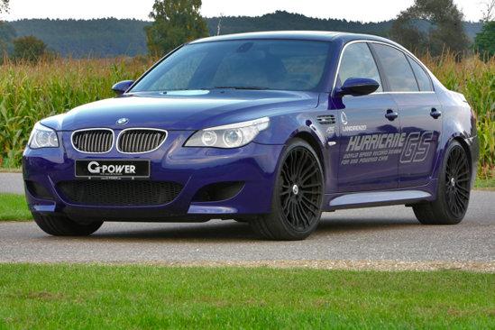 Cea mai rapidă maşină cu GPL: BMW M5 G-Power Hurricane GS