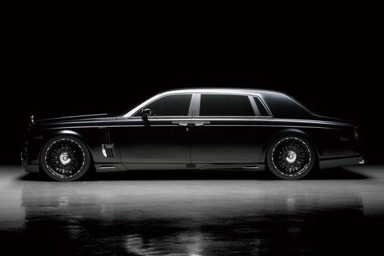 Rolls Royce Phantom Extended Wheelbase tunat de Wald International: un adevărat Panzer negru