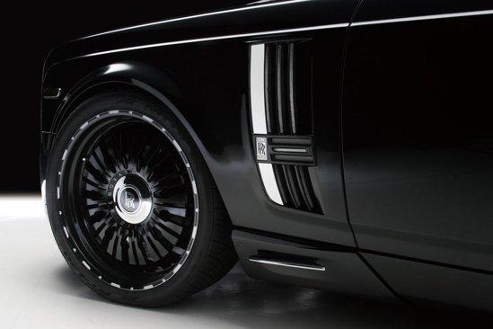 Wald a dotat acest Rolls Royce Phantom cu jante Renovatio de 24 inch