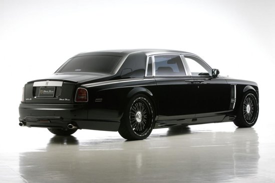 Rolls Royce Phantom Extended Wheelbase Sports Line Black Bison - putin cam bling, nu credeti?