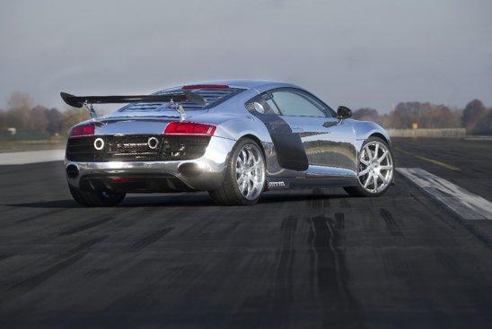 MTM dopeaza Audi R8 V10 cu un sistem biturbo. Putere maxima 777 CP, cuplu 888 Nm