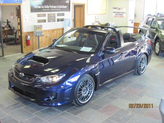 Subaru Impreza WRX STi Cabrio - creatie unicat a celui mai mare dealer Subaru din Anglia