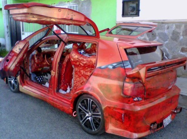 Tuning SF bazat pe VW Golf 3