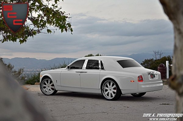 Rolls Royce Phantom Kocaine Project are un set de jante Asanti de 26 inch