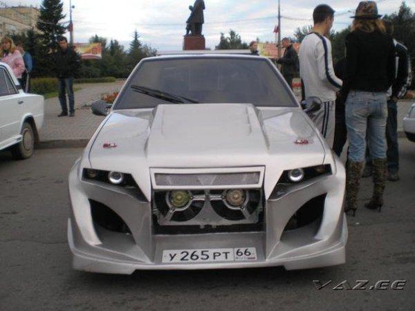 Lada Samara Dominator - tuning rusesc cotroversat